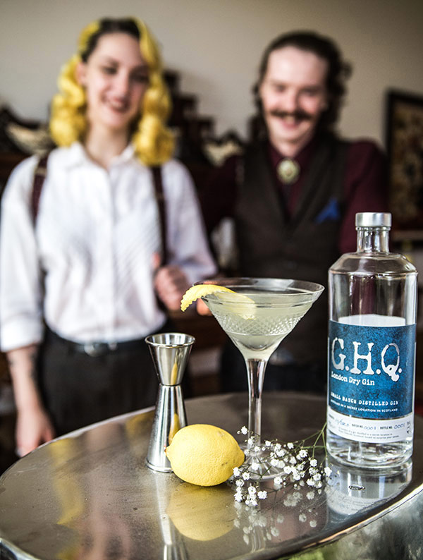 Award-winning premium spirits handcrafted in Scotland | G.H.Q Spirits