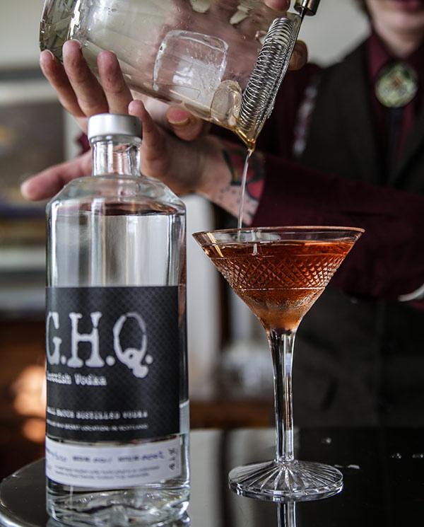 Premium spirits distilled in Scotland   G.H.Q Spirits