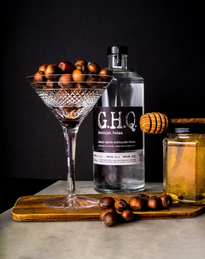Premium Scottish Vodka distilled in Scotland | G.H.Q Spirits